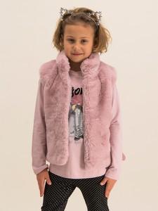 Różowa kamizelka dziecięca Mayoral