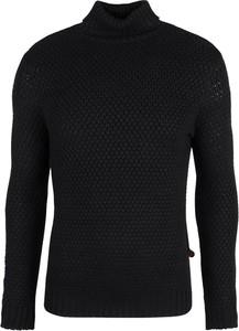 Czarny sweter Xagon z dzianiny