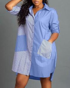 Sukienka Kendallme z długim rękawem koszulowa w stylu casual