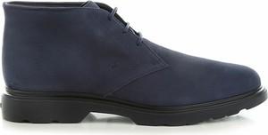 Granatowe buty zimowe Hogan