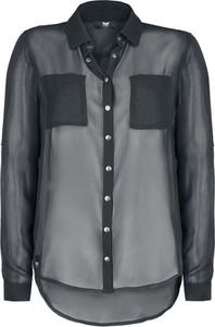 Czarna koszula Emp z długim rękawem