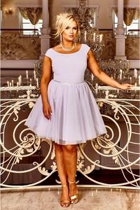 Sukienka Bosca Fashion z szyfonu