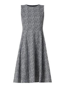 Sukienka Ralph Lauren bez rękawów z okrągłym dekoltem midi
