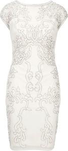 e2f196ec56 Sukienka Heine dopasowana z okrągłym dekoltem mini