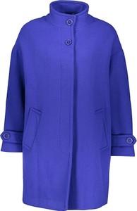Niebieski płaszcz United Colors Of Benetton z wełny