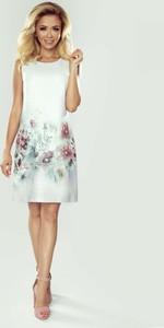 915604011e biała sukienka koktajlowa - stylowo i modnie z Allani