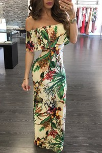 Sukienka elegrina maxi