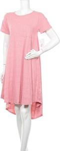 Sukienka Lularoe mini z okrągłym dekoltem