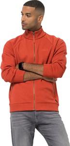 Pomarańczowa bluza Autoryzowany Sklep Jack Wolfskin w stylu casual z plaru