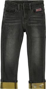 Czarne spodnie dziecięce LEGO Wear z jeansu