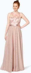 Różowa sukienka vm