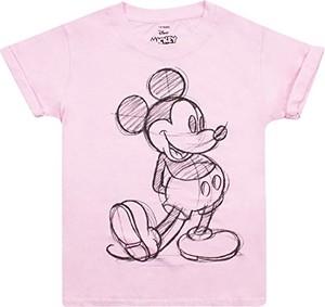 Różowa koszulka dziecięca Disney
