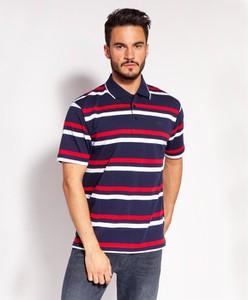 Koszulka polo Lee Cooper z krótkim rękawem w stylu casual