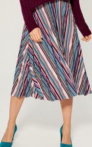 Spódnica Mohito w stylu casual midi