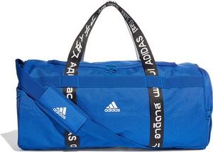 Niebieska torba sportowa Adidas