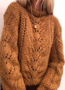 Brązowy sweter Sandbella