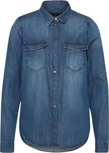 Niebieska koszula Vero Moda z długim rękawem