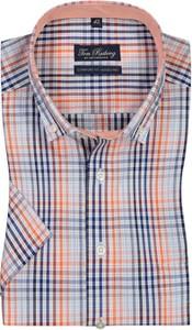 Koszula Tom Rusborg z kołnierzykiem button down