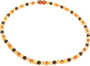 Ambertic-im Naszyjnik z bursztynem w czterech kolorach