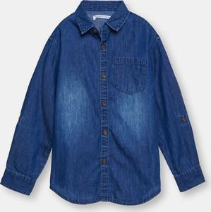 Niebieska koszula dziecięca Sinsay