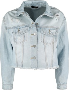 Niebieska kurtka Emp z jeansu