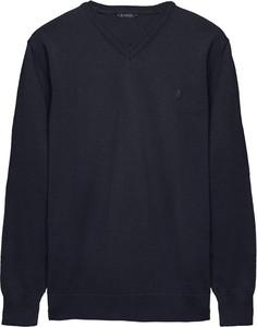 Niebieski sweter Borgio