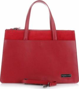 Czerwona torebka torbs