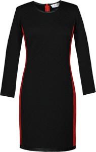 Czarna sukienka Fokus ołówkowa midi