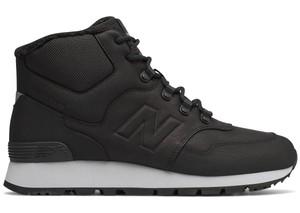 Buty trekkingowe New Balance ze skóry w sportowym stylu