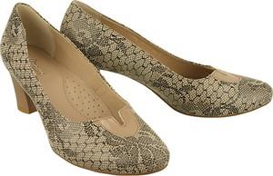 Brązowe czółenka Marco Shoes