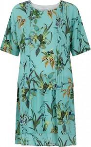 Sukienka L'AF z okrągłym dekoltem z tkaniny
