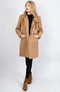 Brązowy płaszcz Olika w stylu casual