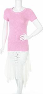 Sukienka Akep z krótkim rękawem