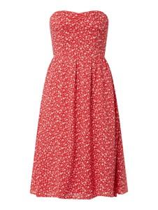Czerwona sukienka Tommy Jeans bez rękawów mini
