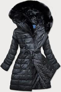 Czarny płaszcz Goodlookin.pl w stylu casual
