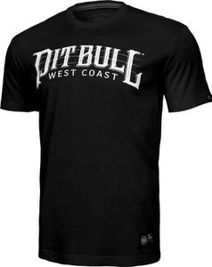 T-shirt Pit Bull West Coast z jedwabiu z krótkim rękawem