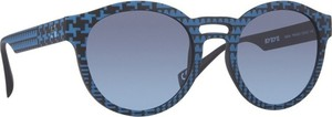 Niebieskie okulary damskie Italia Independent