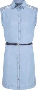 Sukienka Pepe Jeans mini bez rękawów