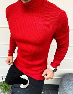 Sweter Dstreet w stylu casual z bawełny