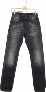 Granatowe jeansy Bonobo