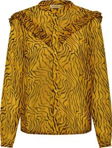 Bluzka Soaked in Luxury z długim rękawem z szyfonu