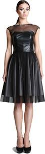 Sukienka Camill Fashion midi w rockowym stylu bez rękawów