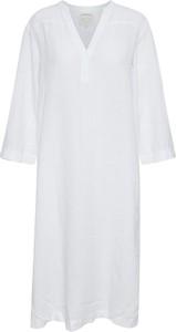 Sukienka Part Two z długim rękawem w stylu casual mini