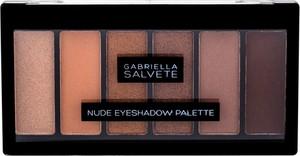 Gabriella Salvete Nude Eyeshadow Palette Cienie Do Powiek 12,5G