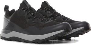 Czarne buty trekkingowe The North Face sznurowane