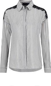 Koszula Trussardi Jeans z długim rękawem z kołnierzykiem