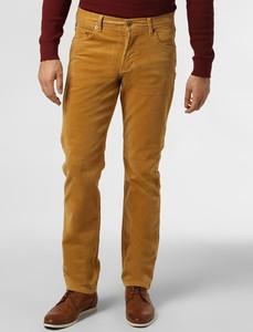 Żółte spodnie Nils Sundström