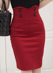 Czerwona spódnica Sandbella