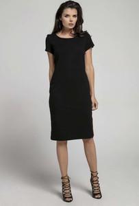 b623e887d7 czarna sukienka za kolano - stylowo i modnie z Allani
