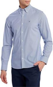 Niebieska koszula Gant z bawełny z długim rękawem